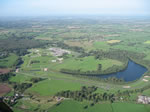 Aerial view of Oulton Park Racing Circuit