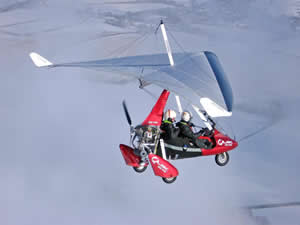 Microlighting is an all year round activity